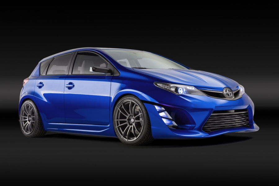 New Scion concept, based on the Toyota Auris