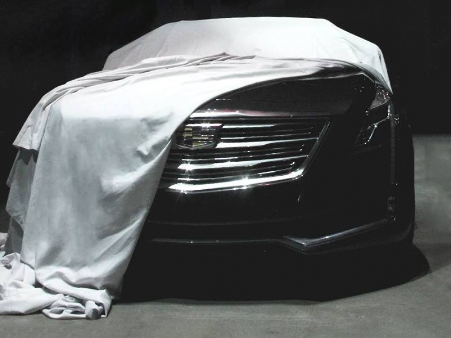 The new Cadillac Flagship teased for the last time before the official debut - 2016 Cadillac CT6