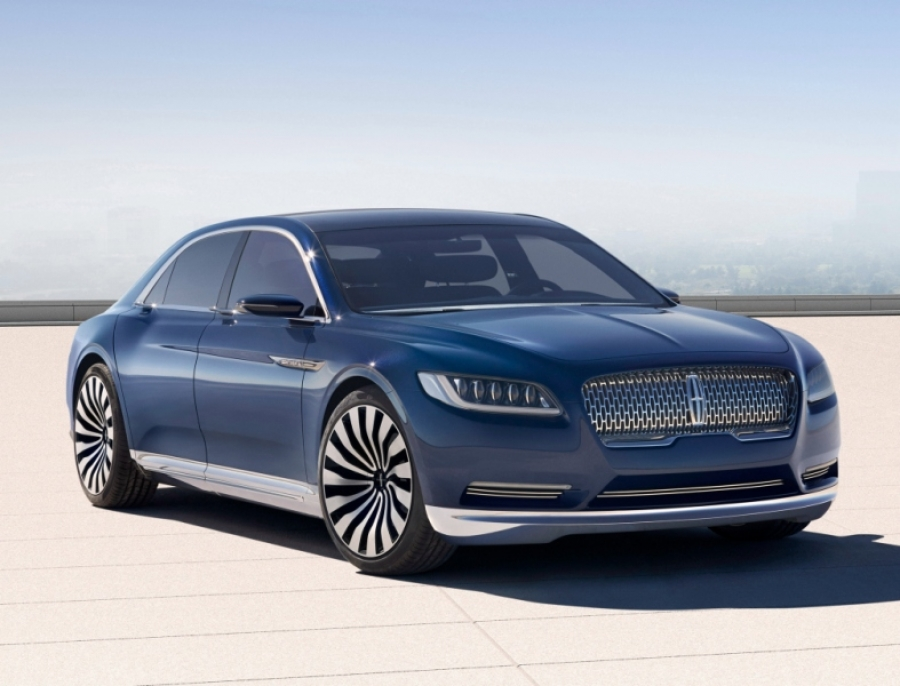 The Continental brings back Lincoln luxury from the past - 2015 Lincoln Continental Concept
