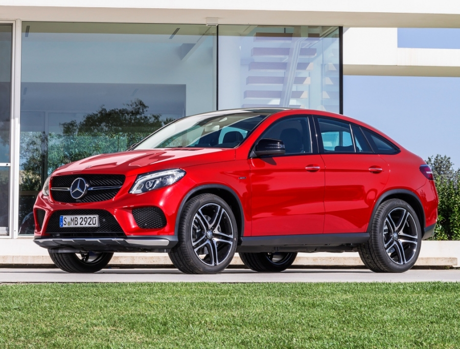 The all-new Mercedes-Benz GLE Coupe